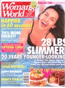 Woman's World Magazine Cover