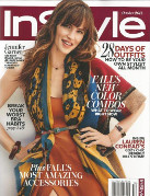 In Style October 2014 Cover